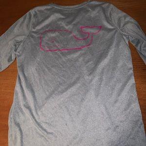 Euc vineyard vines performance grey shirt